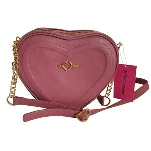 Betsey Johnson Bags - Betsey Johnson Heart Crossbody Bag